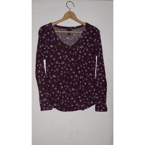 |RUE 21 FLORAL LONG SLEEVE|